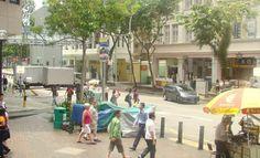 Bugis Street, Singapore...shopping, dining, exploring..including the local flea market