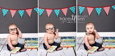 6 month baby boy photo idea #bookworm