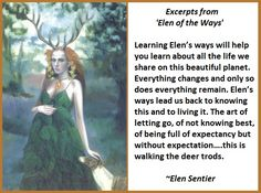 Goddess Wisdom – Elen of the Ways Female Reindeer, Art Of Letting Go, Celtic Druids, Daughter Of Smoke And Bone, Wiccan Crafts, Celtic Mythology, Show Me The Way, Spirited Art, Mother Goddess