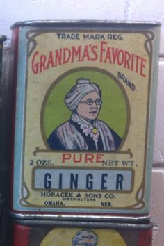 Great Nebraska spice tin Like my new Facebook page it's new but I will be adding a lot of content over the next few weeks!!  Antique advertising  check it out!!