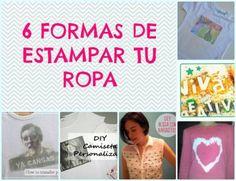 6 FORMAS DE ESTAMPAR TU ROPA