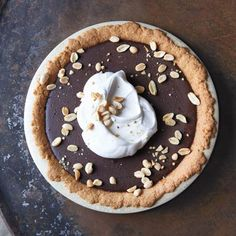 Chocolate Pudding Pie with Salted Peanut Crust http://www.health.com/health/gallery/0,,20627058,00.html