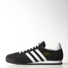 half off 635b7 c4c5e Der adidas Originals Dragon für Herren bringt die Laufschuhe der 70er Jahre  zurück. Mit Obermaterial