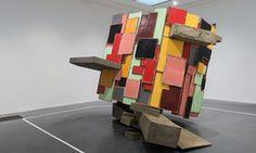 An untitled Phyllida Barlow work on display at Tate Modern