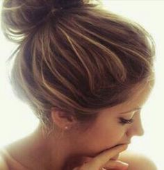 Dark brown hair with caramel highlights: want!  THIS IS HOW I WANT IT, I WANT TO SEE A CHANGE!!!