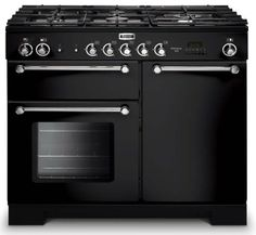 Falcon fornuis | stoom oven | gasfornuis | black | zwart | 90 cm