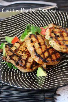 5 Marinades to start your Barbeque Season Smoked Chicken, Marinated Chicken, Tandoori Chicken, Salmon Marinade, Beef Marinade, Thai Beef Salad, Chicken Breast Fillet, Bbq Ideas, Kitchen Stories