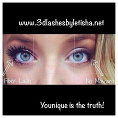 YouNique time! This is magic mascara! Get yours today and say goodbye to tiny eyelashes. Have a YouNique day!