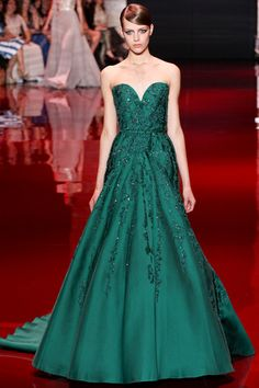 Elie Saab Fall 2013 Couture Collection Slideshow on Style.com #fashion