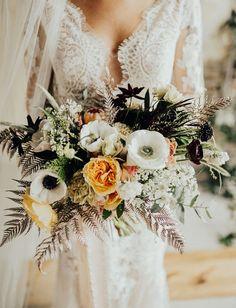 anemone bouquet #weddingbouquets