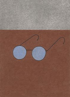 // Old glasses, Yoko Nakajima