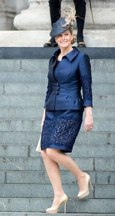 Sophie Countess of Wessex at The Queen's Diamond Jubilee #fashion #jubilee #harpersbazaar #partysnaps #wessex