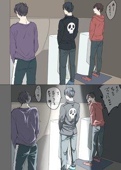 【おそ松さん】『某男子トイレ』(六つ子)