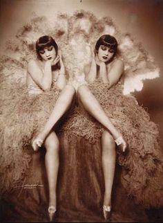 Studio Manassé - portraits of a pair of flappers., 1920s
