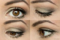 Urban Decay Ammo Palette by Super Gorgeous on SheSaidBeauty - pretty green tute