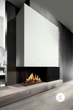 Excellent Free Gas Fireplace with tv Style Up to we protest regarding winter months in Ontario, usually there are some upsides to chilled weath fireplace ideas with tv built ins Open Fireplace, Fireplace Inserts, Living Room With Fireplace, Fireplace Design, Fireplace Modern, Fireplace Ideas, High Heat Paint, Living Tv, New Homes