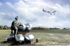 WW II Aviation Artwork
