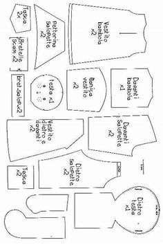 Image result for American Girl Doll Clothes Patterns Free Printable