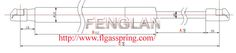 FENGLAN ¢8MM STRUTS--Gas spring gas spring,industrial gas springs,gas spring china,gas spring manufacturers,Free type Ball-Socket Series,Ball-Socket Series gas spring,compressed gas spring,Auto Accessories FEATURES:         QPQ coating on shaft         Plastic quick-fit ends PISTON ROD ﹠CYLINDER DIMENSIONS:         ¢8mm piston rod         ¢18mm cylinder Application: car hood; truck; tool case; street lamp; dustbin; fitness equipment; mechanical equipment, etc. http://www.flgasspring.com
