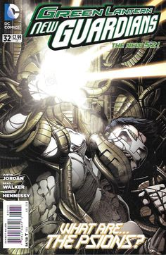 Green Lantern: New Guardians # 32 DC Comics The New 52!