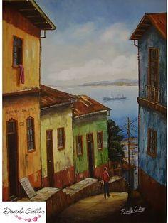 Valparaiso New Theme, Pastel, Van Gogh, Loki, Photo Art, Arts And Crafts, Canvas, World, Drawings