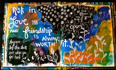 My Blooming Life: art journal *Love This*
