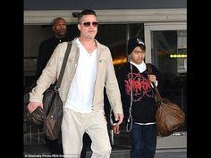 Brad Pitt, Maddox:  Child Abuse Investigation Closed?