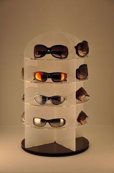 Brillenständer pour 5 paires de lunettes lunettes de soleil lunettes 3D support en acrylique oebEk