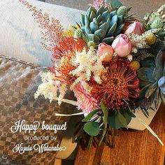 ・ ロマンティックな多肉ブーケ。 ・ ・ ・ POSY fleur atelier ・ ・ ・ #POSY花屋#名古屋#栄#大須#上前津#花#花のある暮らし#パリスタイル#ディスプレイ#ウェディング#多肉ブーケ#ボタニカル#カラフル#ウエディングブーケ#ブーケ #flowers#japan#nagoya#instaflower#KazutoWatanabe#weddingbouquet#wedding#bouquet