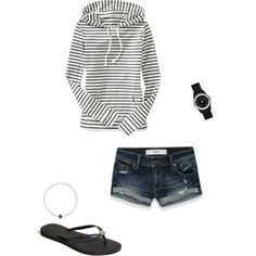 Cool day at the Beach, created by julesgirl84 on Polyvore
