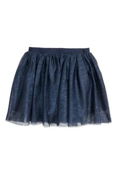 99e2beff48 Skirt in a double layer of tulle with an elasticated waist. Lined. Stylish  Outfits