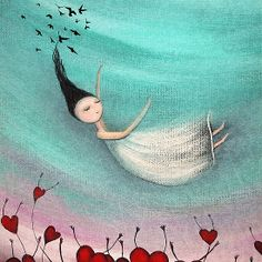 """Love is a soft place to fall'  by Amanda Cass"