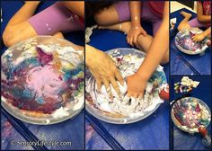 Lots of sensory activities that provide opportunity to explore and develop your child's sensory systems through sensory play.