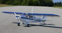 Hangar 9 1/4-Scale PA-18 Super Cub ARF Gas/Electric RC Airplane Scale HAN4540