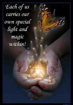 You are a magnificent creation of the Divine Light! Many blessings,Cherokee Billie