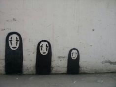 Spirited Away graffiti
