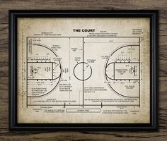 Basketball Court Patent Print - Basketball Court Design - Basketball Player Gift Idea - Single Print #1478 - INSTANT DOWNLOAD <<<<<<<<<<<<<<<<<<<<INSTANT DOWNLOAD>>>>>>>>>>>>>>>>>>>> You will receive a high quality JPG digital file of this listing image - 8 x 10 inches (300dpi)
