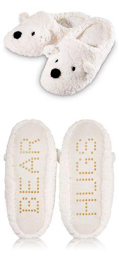 Bath & Body Works Holiday Slippers