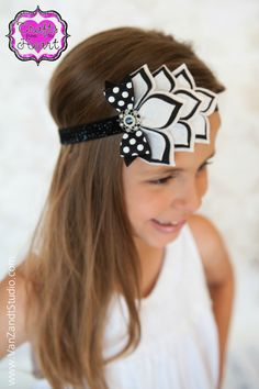 Felt Headband  Modern Wedding  100 USA by PACraftsfromtheHeart, $17.75