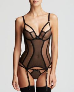 L'Agent by Agent Provocateur Basque - Mariona Unlined Corset - BlackYou can find Lingerie models and more on our website.L'Agent by Agent Prov. Pretty Lingerie, Black Lingerie, Beautiful Lingerie, Lingerie Set, Women Lingerie, Lingerie Underwear, Lingerie Models, Disney Lingerie, Lingerie Outfits