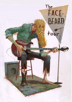 Illustration by Dean Stuart, via Behance