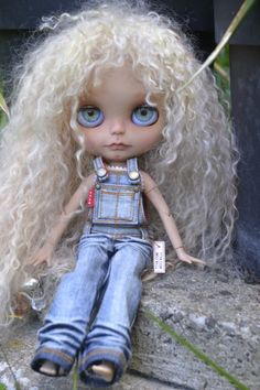 OOAK Blythe doll SANDY by nhola on Etsy