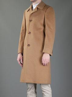 Aquascutum Vintage Classic Coat in Brown for Men  6f61c173336