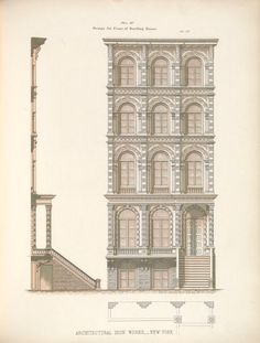 Architecture Mapping, Classic Architecture, Architecture Drawings, Architecture Details, Building Facade, Old Building, House Sketch Plan, Facade Design, Facade House