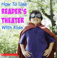 Learn more about Readers Theater and how it can enhance literacy skills.
