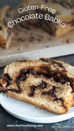 Good Gluten Free Bread Recipe, Best Gluten Free Desserts, Gluten Free Cookie Recipes, Gluten Free Cupcakes, Gluten Free Baking, Jewish Recipes, Gluten Free Chocolate, Sans Gluten, Chocolate Babka