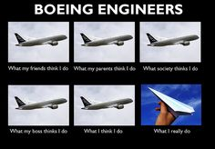 What Boeing Engineers Really Do. Aviation Industry, Engineers, Lol, Funny, Funny Parenting, Hilarious, Fun, Humor