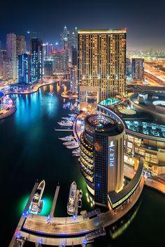 Dubai Marina By Daniel Cheong