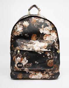 Mi-Pac+Backpack+in+Bloom+Floral+Print