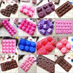 Nice Chocolate Cake Cookie Muffin Jelly Baking Silicone Bakeware Mould Mold 0024 #lightvogue